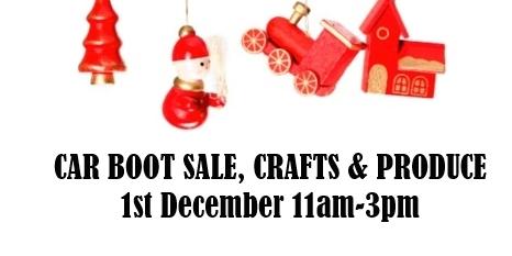 Car Boot Sale at Raford House
