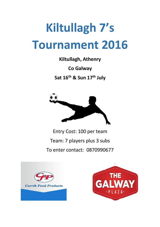 Kiltullagh 7s Tournament 2016
