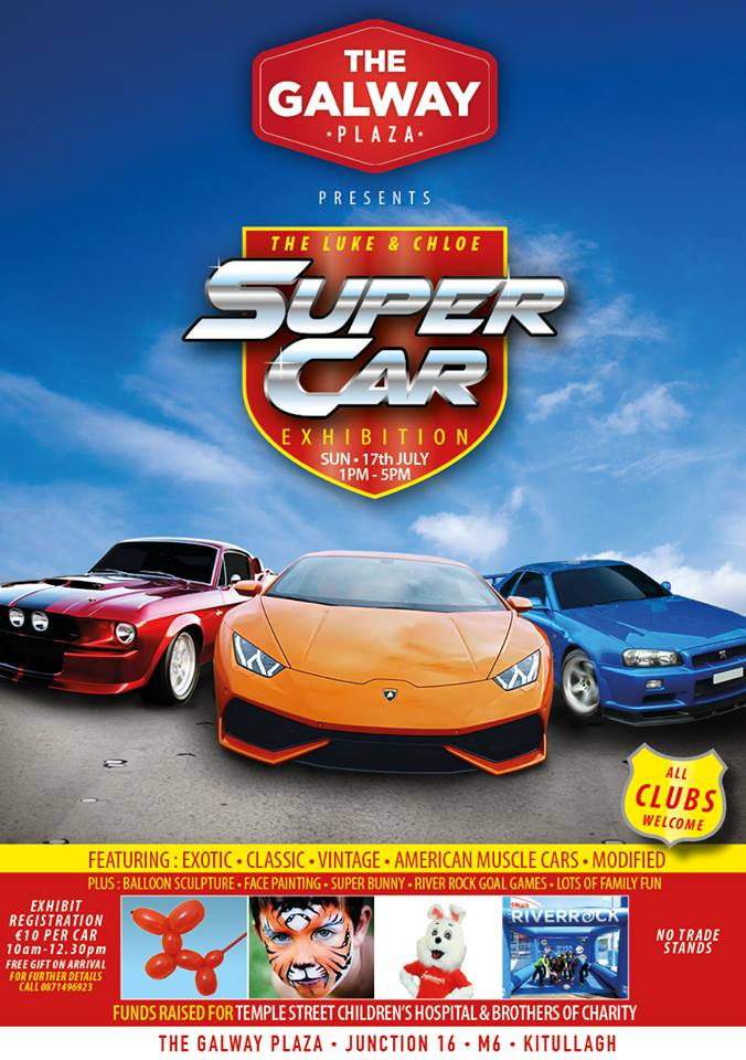 The Luke and Chloe Super Car Exhibition
