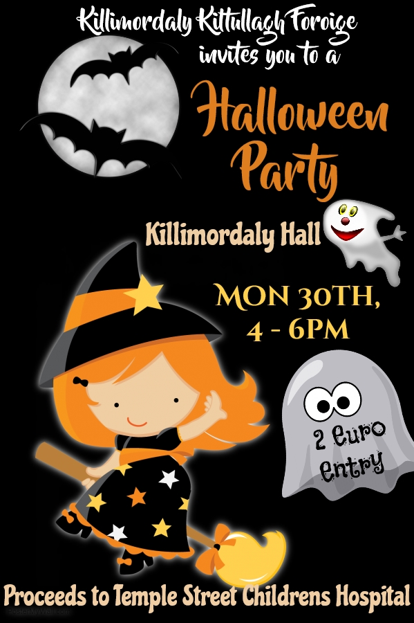 Halloween Party in Killimordaly Community Centre