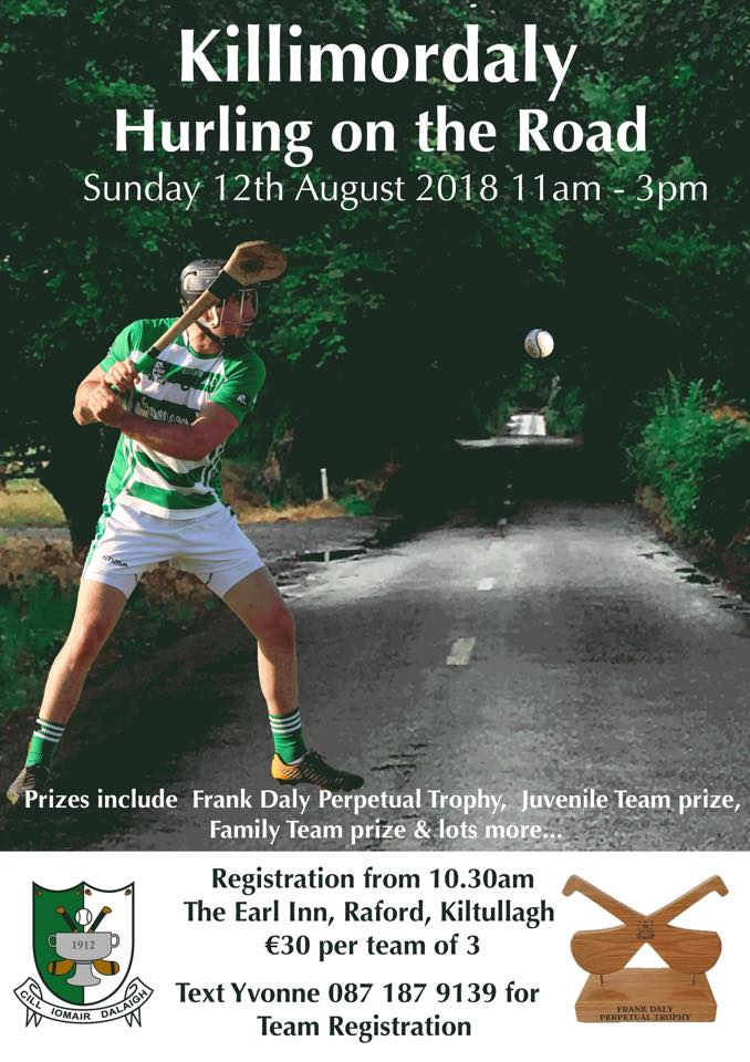 Killimordaly Hurling on the road