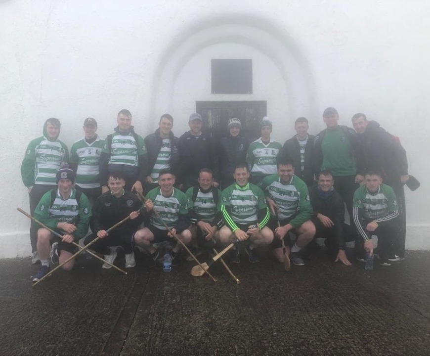 Killimordaly Hurling Club conquer Croagh Patrick in aid of Cancer Care West
