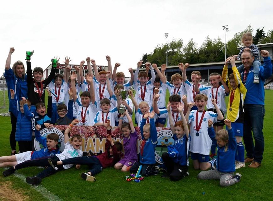 Kiltullagh Pioneers FC GFA U11 Neptune Cup Winner 2018/2019