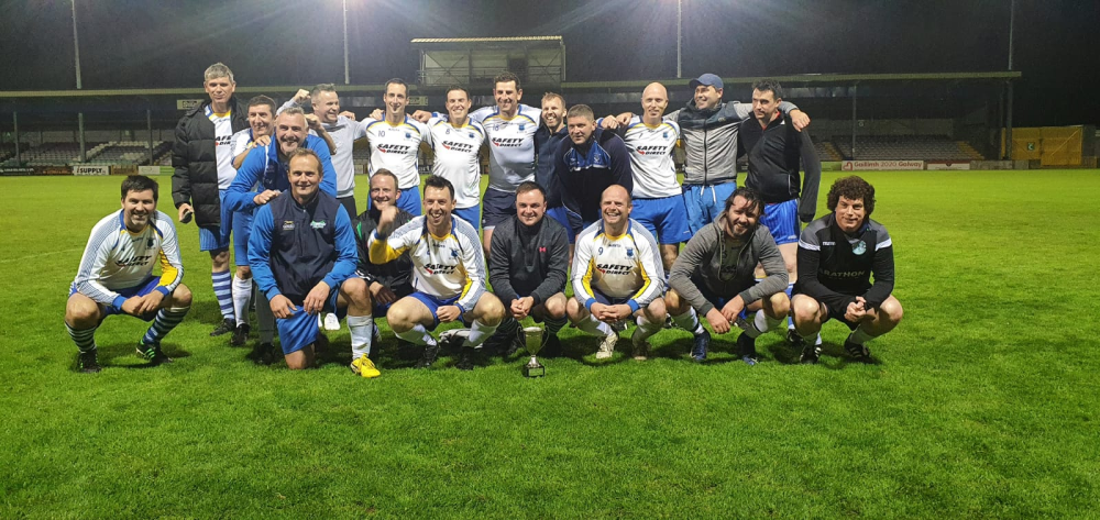 Kiltullagh Pioneers FC Over 35s B winners